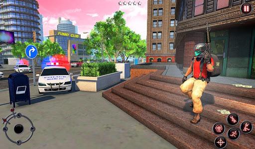 Rope Amazing Hero Crime City Simulator screenshot 8