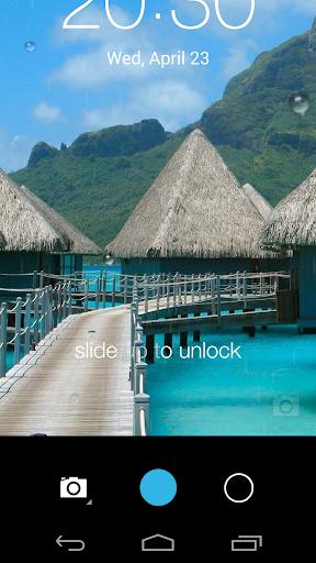 Galaxy rainy lockscreen screenshot 12