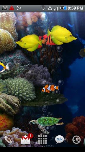 Aquarium Free Live Wallpaper screenshot 3