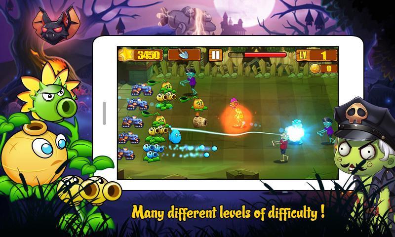 Angry Plants Wars screenshot 3