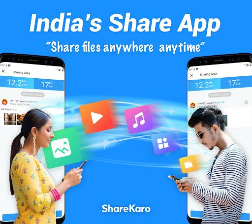 ShareKaro: India SHARE & File Transfer, Share it screenshot 1