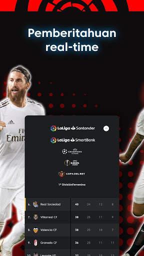 La Liga - Sepak bola dan Hasil Pertandingan screenshot 7