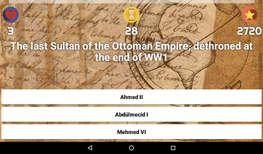 History & Culture Trivia - Demo 10 تصوير الشاشة