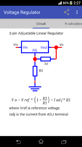 Voltage Regulator 4 تصوير الشاشة
