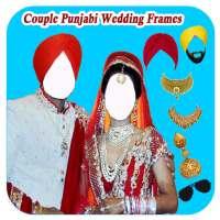 Couple Punjabi Wedding Frames on 9Apps