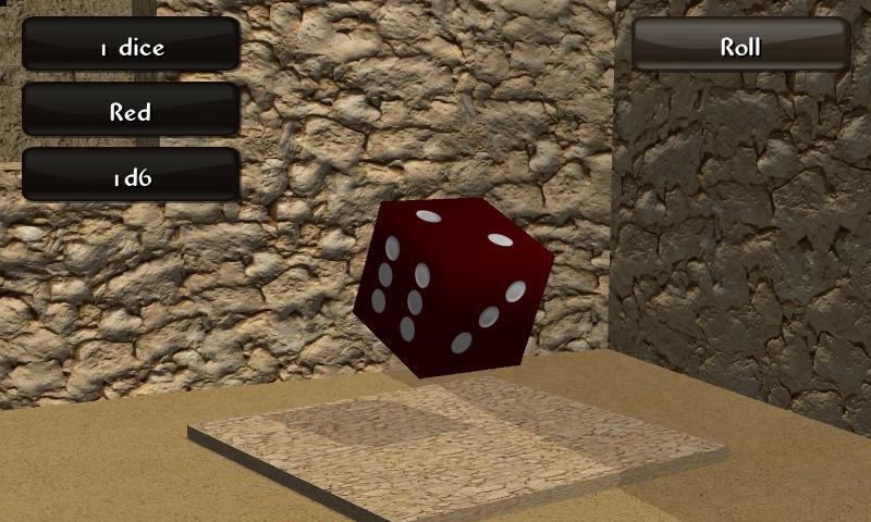 Mad Dice Roller 3D screenshot 1