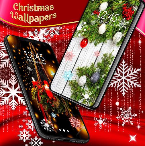 Christmas Wallpapers 🎅 Xmas Tree Live Wallpaper 5 تصوير الشاشة