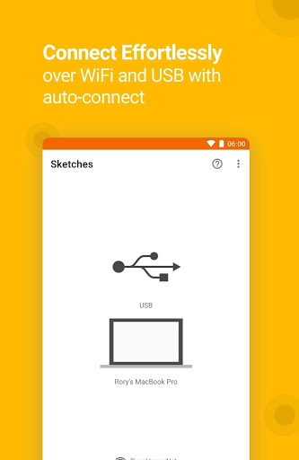 Crystal: Sketch Mirror for Android screenshot 1