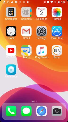 iLauncher X - new iOS theme for iphone launcher screenshot 2