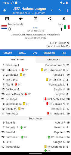 Italian Soccer 2020/2021 screenshot 1