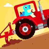 Dinosaur Farm - Tractor simulator games for kids on 9Apps