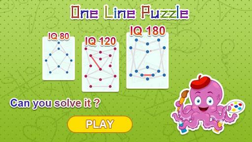 One Stroke Drawing Puzzle 10 تصوير الشاشة