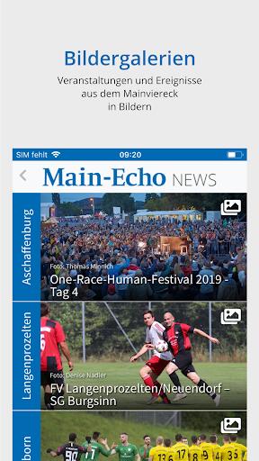 Main-Echo NEWS 3 تصوير الشاشة