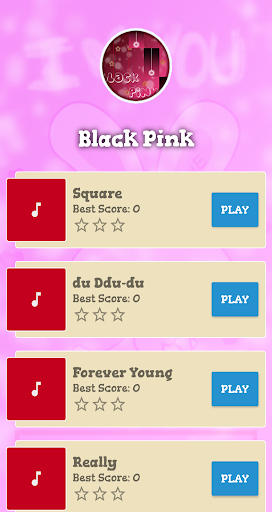 Black Pink Piano Game 1 تصوير الشاشة