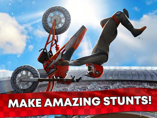 Free Motor Bike Racing - Fast Offroad Driving Game screenshot 15