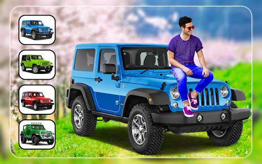 New Jeep Photo Editor - Photo Frames 4 تصوير الشاشة