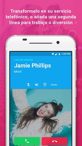 Nextplus: Llama Gratis   Texto screenshot 5