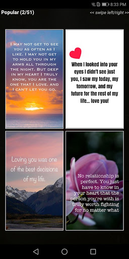 """Love Quotes"""" - Daily Quote, Sayings, & Wallpapers screenshot 2"""