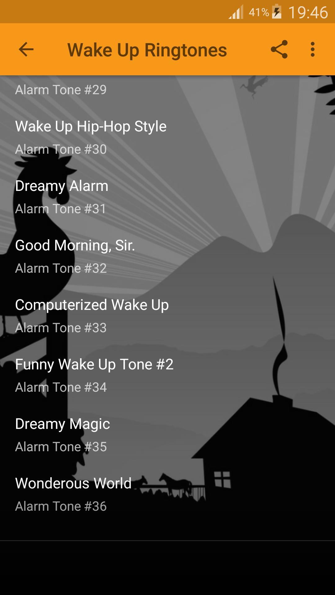 Wake Up Alarm Clock Ringtones screenshot 2