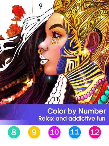 Color by Number - Happy Paint screenshot 10