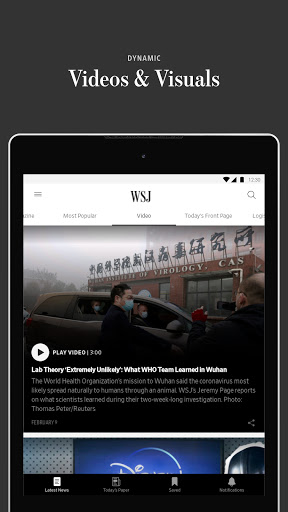 The Wall Street Journal: Business & Market News screenshot 9