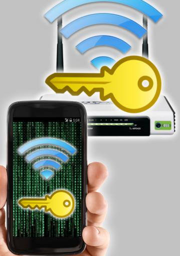 Wifi password recovery screenshot 1