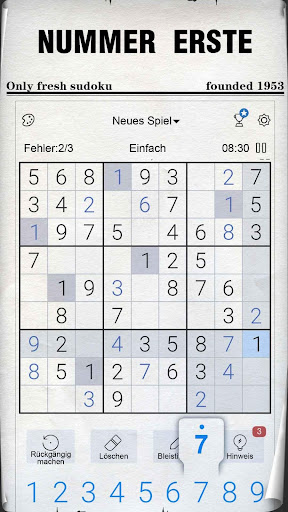 Sudoku - Kostenlose klassische Sudoku Puzzles screenshot 6
