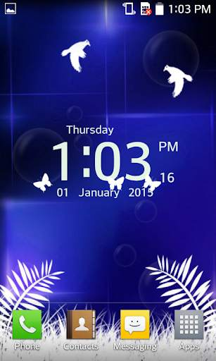 Clock Live Wallpaper - Analog, Digital Clock 2020 screenshot 6