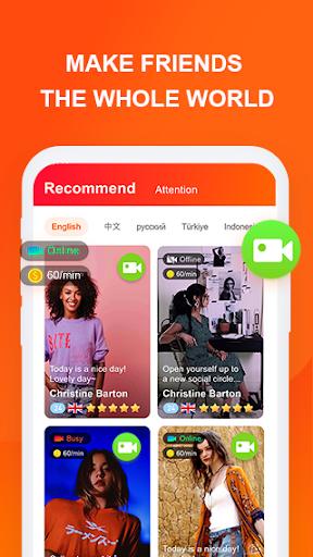 Holo Live—Video Chat & Match & Make Friends screenshot 1