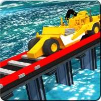 River Railroad Builder : Bridge Construction on 9Apps