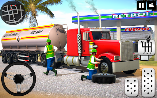 Oil Tanker Truck Driver 3D - Free Truck Games 2020 screenshot 1