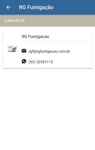RG Fumigação screenshot 2