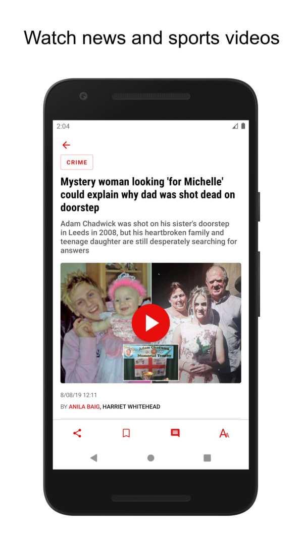 The Mirror App: Daily News screenshot 2