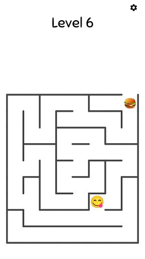 Emoji Maze Games - Challenging Maze Puzzle 2 تصوير الشاشة