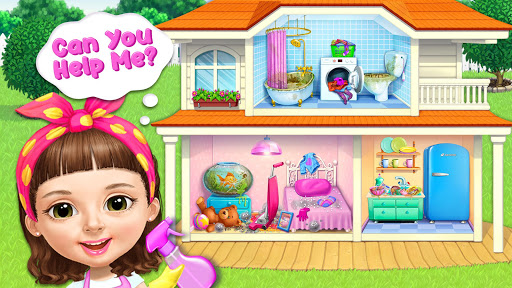 Sweet Baby Girl Cleanup 5 - Messy House Makeover 4 تصوير الشاشة