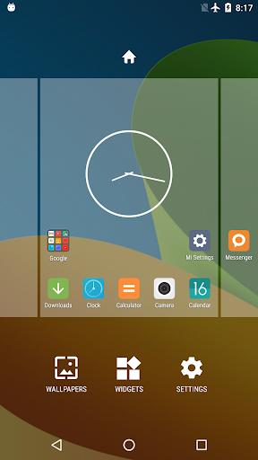 Mi Launcher 3 تصوير الشاشة