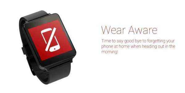 Wear Aware - Phone Finder screenshot 1