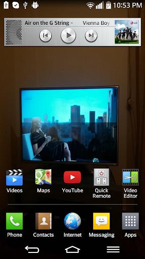 Transparent screen screenshot 2