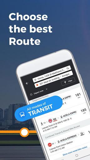 Moovit: Timing & Navigation for all Transit Types screenshot 2
