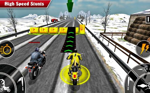 Moto Bike Attack Race 3d games screenshot 3