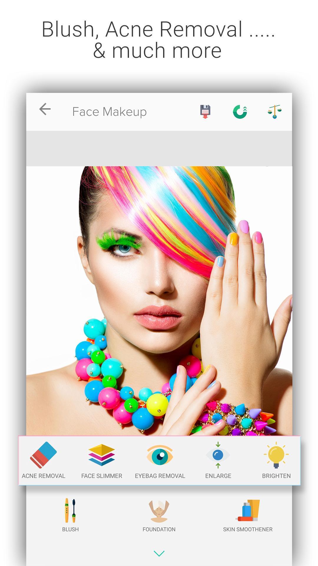 Beauty Makeup Photo Editor screenshot 3