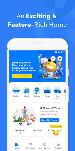 tiket.com - Hotels, Flights, To Dos screenshot 1