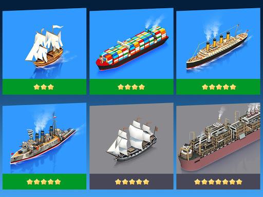 Sea Port: สร้าง Town & Ship Cargo ในซิม Strategy screenshot 2