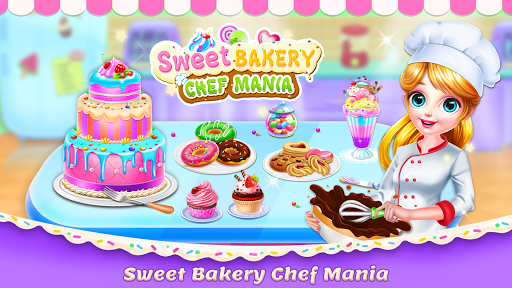 Sweet Bakery Chef Mania: Baking Games For Girls screenshot 1