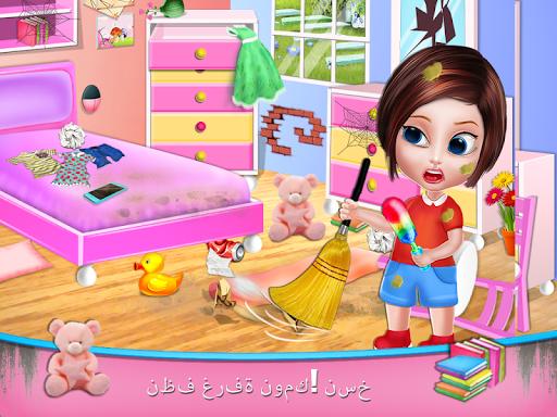 تنظيف المنزل - تنظيف المنزل لعبة بنات 2 تصوير الشاشة