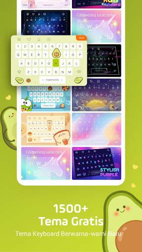 Facemoji Emoji Keyboard-Emoji Lucu,Stiker,Tema,GIF screenshot 4