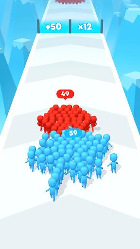 Count Masters: Crowd Clash & Stickman running game screenshot 1