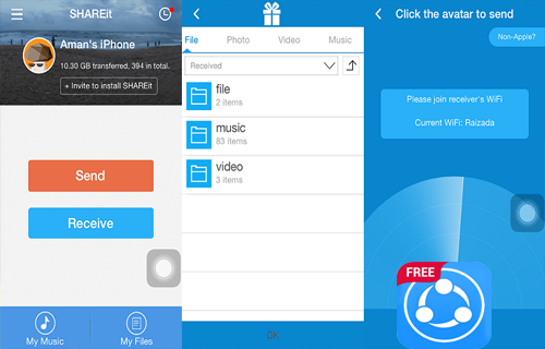 SHAREit - Files Transfer & Share Tips 2020 Free screenshot 3