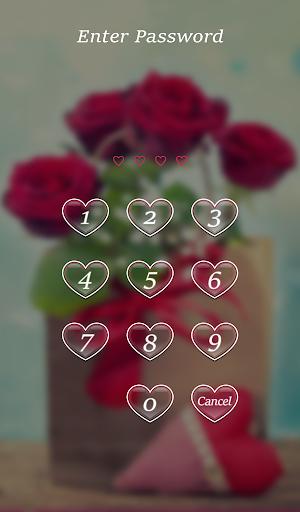 Lock Screen Pin Love Theme screenshot 6
