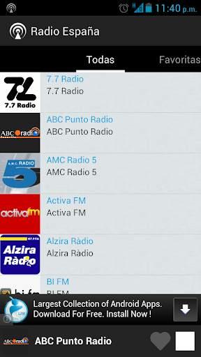 Radio Spain screenshot 3